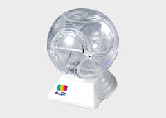 LEDオーロラプレビューNO.1 球体パズル式貯金箱セット